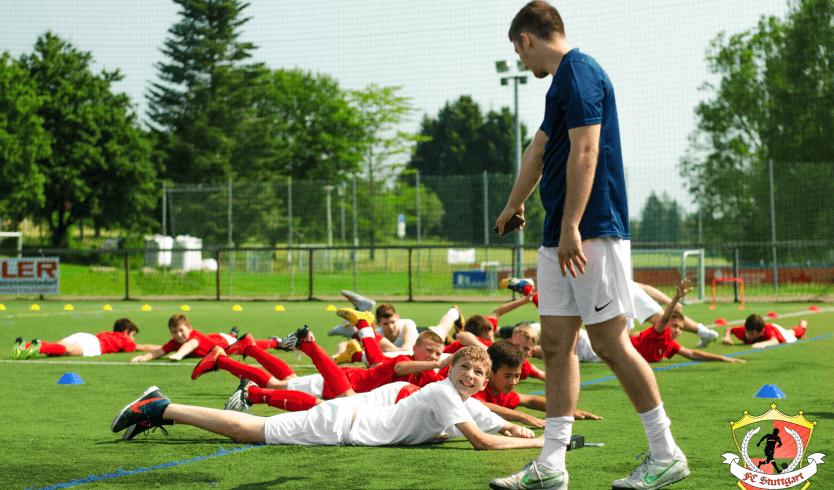 Подготовка юных футболистов в англии